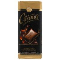 Шоколад Чёрный ТМ Світоч