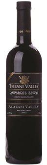 Вино Грузии Красное Полусладкое ТМ Teliani Valley