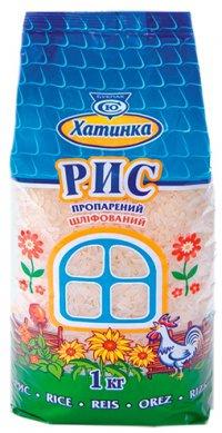 Рис Пропаренный ТМ Хатинка