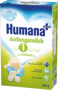 Заменитель грудного молока С 3 месяцев ТМ Humana