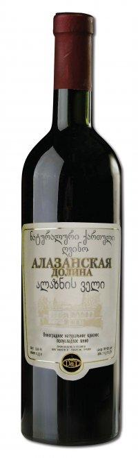 Вино Грузии Красное Полусладкое ТМ Зоря Кахетії