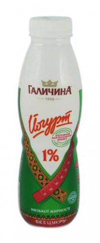 Йогурт питьевой ТМ Галичина