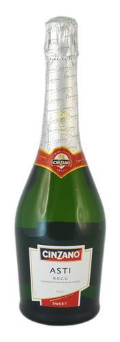 Шампанское Италии Белое Полусухое ТМ Cinzano