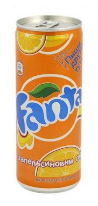 Напиток безалкогольный ТМ Fanta