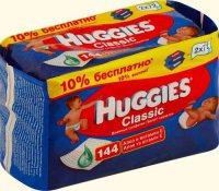 Детские салфетки ТМ Huggies