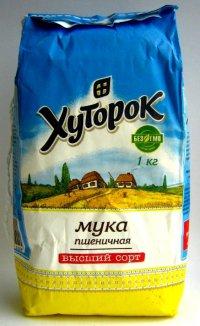 Мука Пшеничная ТМ Хуторок