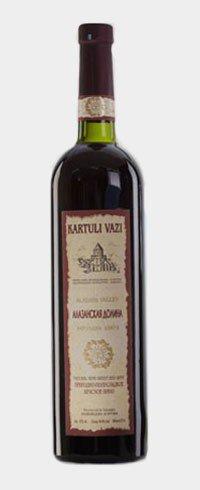 Вино Грузии Красное Полусладкое ТМ Kartuli Vazi