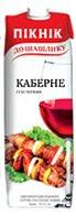 Вино Украины Красное Сухое ТМ Пікнік