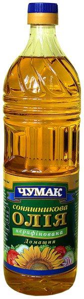 Масло подсолнечное Не рафинированное ТМ Чумак