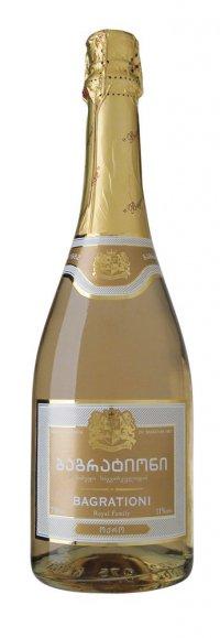 Шампанское Грузии Белое Полусухое ТМ Bagrationi