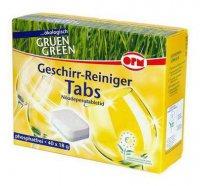 Таблетки Для посудомойных машин ТМ Gruen green ОРМ
