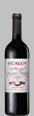 Вино Грузии Красное Полусладкое ТМ Badagoni