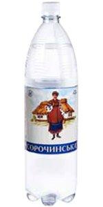 Вода Минеральная Газированная ТМ Сорочинська
