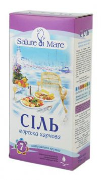 Соль морская ТМ Salute di Mare