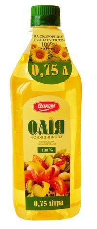 Масло подсолнечное Рафинированное ТМ Олком