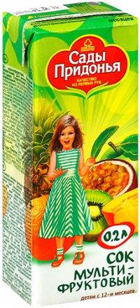 Сок Для детей ТМ Сады Придонья