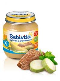 Мясо-овощное пюре Для детей ТМ Bebivita