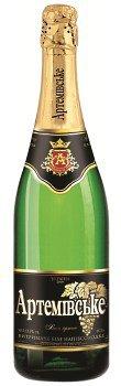 Шампанское Украины Белое Полусладкое выдержаное ТМ Артемівське