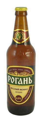 Пиво Светлое ТМ Рогань