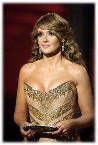 Оксану Марченко признали самой красивой женщиной Украины