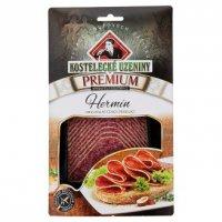 Мясная нарезка ТМ Kostelecké uzeniny - Колбаса сырокопченая Салями Гермин Премиум (Premium Hermín) 8