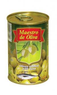 Оливки (зелёные) С тунцом ТМ Maestro de Oliva