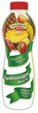 Йогурт питьевой ТМ Волошкове поле