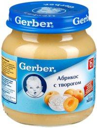 Фруктовое пюре Для детей ТМ Gerber