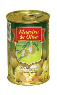 Оливки (зелёные) С сыром ТМ Maestro de Oliva