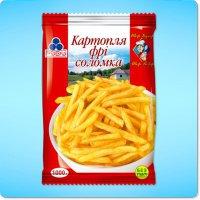 Замороженные овощи Картошка фри ТМ Рудь