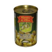 Оливки (зелёные) С сёмгою ТМ Maestro de Oliva