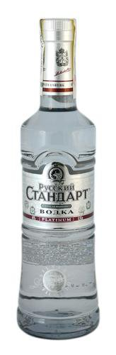 Водка Россия ТМ Русский стандарт