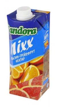 Нектар Грейпфрут + Апельсин ТМ Sandora