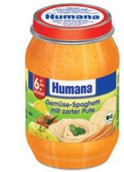 Мясо-овощное пюре Для детей ТМ Humana