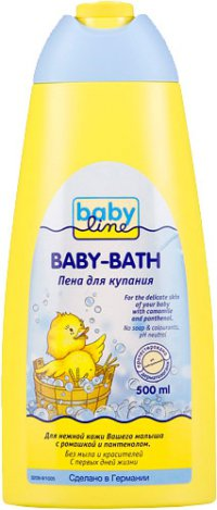 Пена для ванны Для детей ТМ Babyline