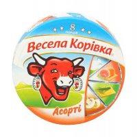 Сыр плавленный порционный ТМ Весела корівка