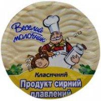 Продукт сырный ТМ Веселый молочник