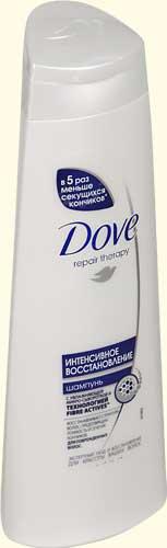Шампунь Для востановления повреждённых волос ТМ Dove