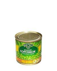 Овощные консервы Горошек ТМ Верес