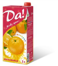 Нектар Апельсин ТМ Да