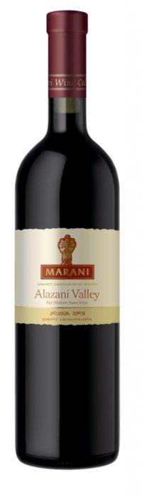 Вино Грузии Красное Полусладкое ТМ Marani