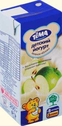 Йогурт Тема