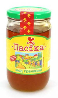 Мёд Гречаный ТМ Пасіка