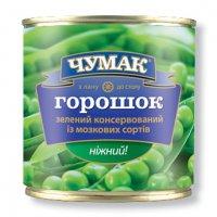Овощные консервы Горошек ТМ Чумак