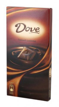 Шоколад Молочный ТМ Dove