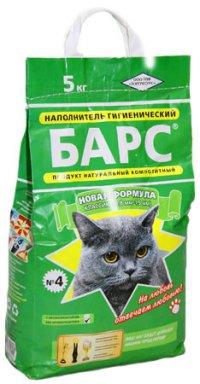 Наполнитель гигиенический Для котов ТМ Барс