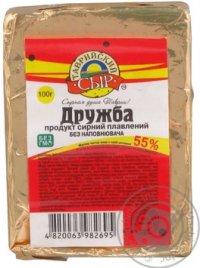 Сыр плавленный ТМ Таврійський сир