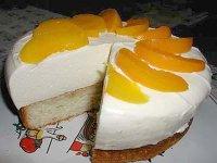 Творожное пирожное