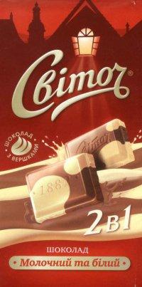 Шоколад Смешаный ТМ Світоч
