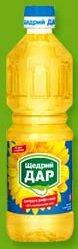 Масло подсолнечное Рафинированное ТМ Щедрий дар